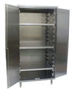 Cabinets-Stainless-Steel-with-Shelves