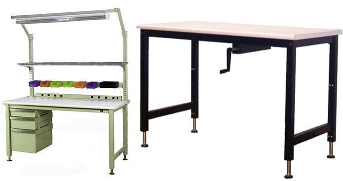 Fine Height Adjustable Lab Workbenches Jha Techspacejha Techspace Short Links Chair Design For Home Short Linksinfo